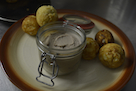 2. Smoked Prune Aebleskiver with Duck Liver Parfait copy